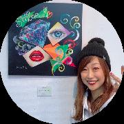 Happyチョークアートスクール 武蔵境レタス