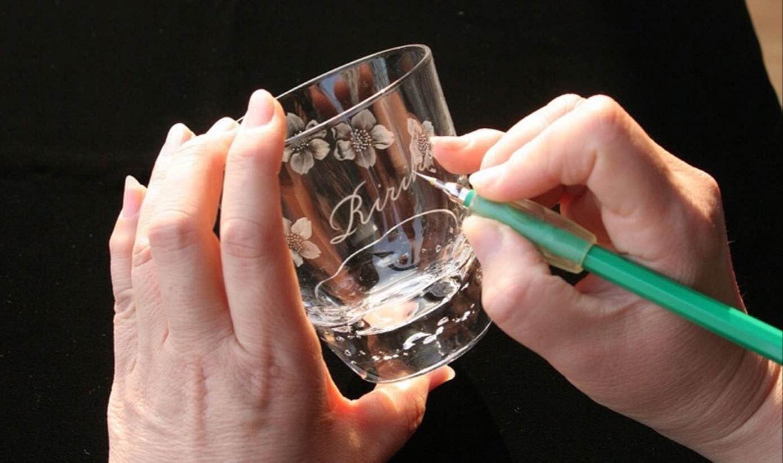 暮らしを彩るグラスリッツェン (手彫りガラス)
