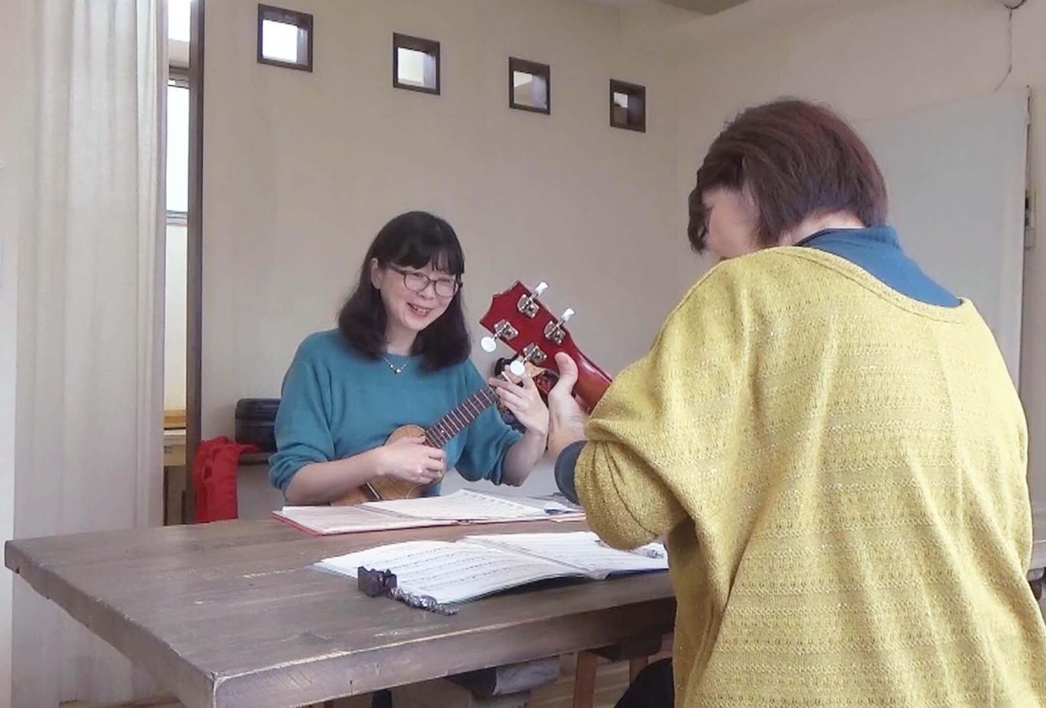 川井美智子ウクレレ教室