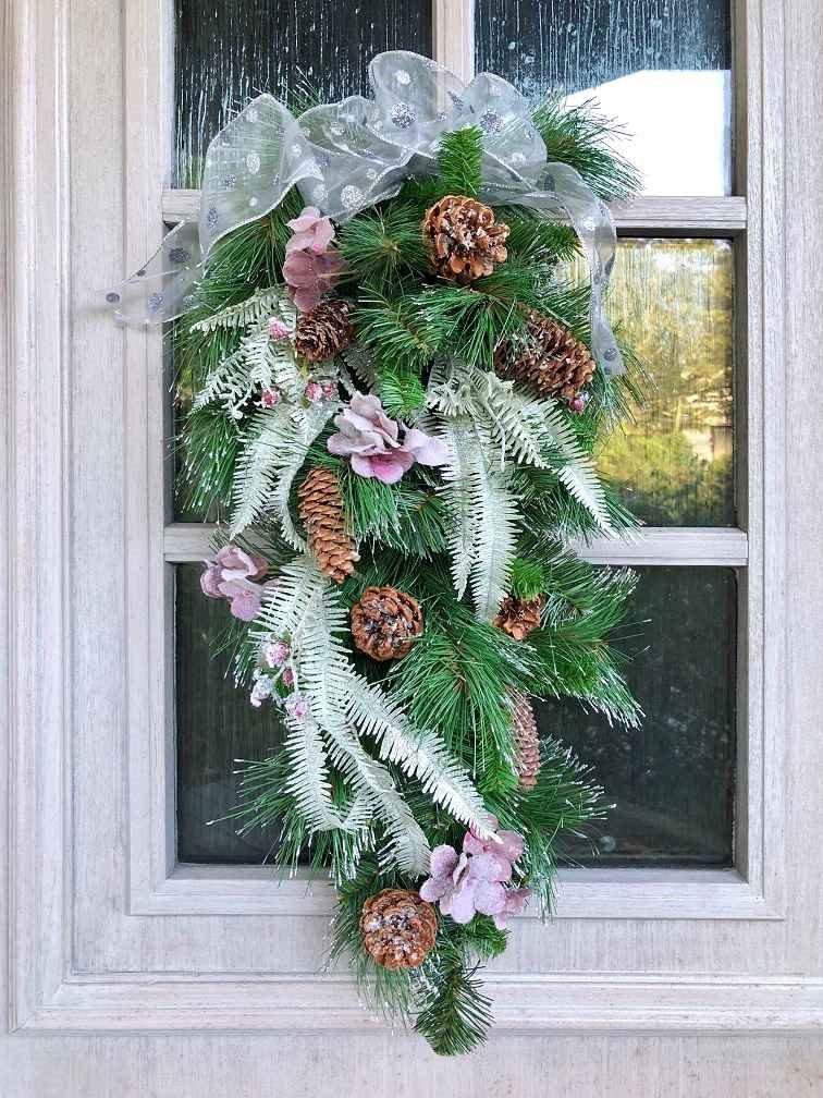 【元町フルールドリス】おしゃれなクリスマス スワッグ★ワークショップ