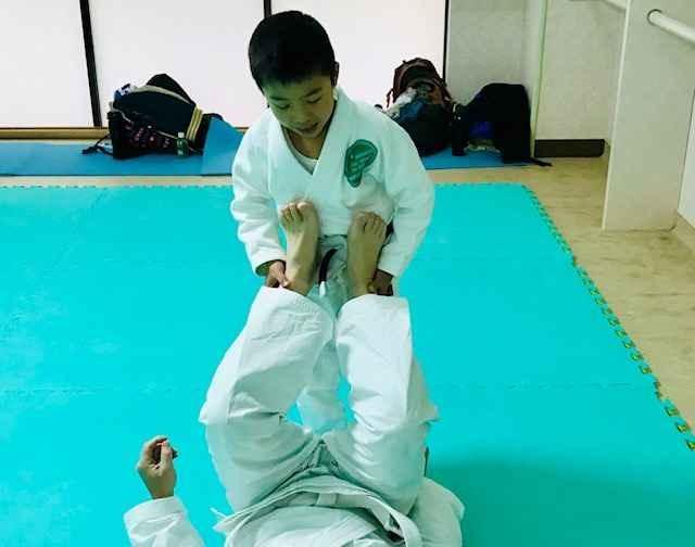 高円寺 柔術基本運動 子供クラス