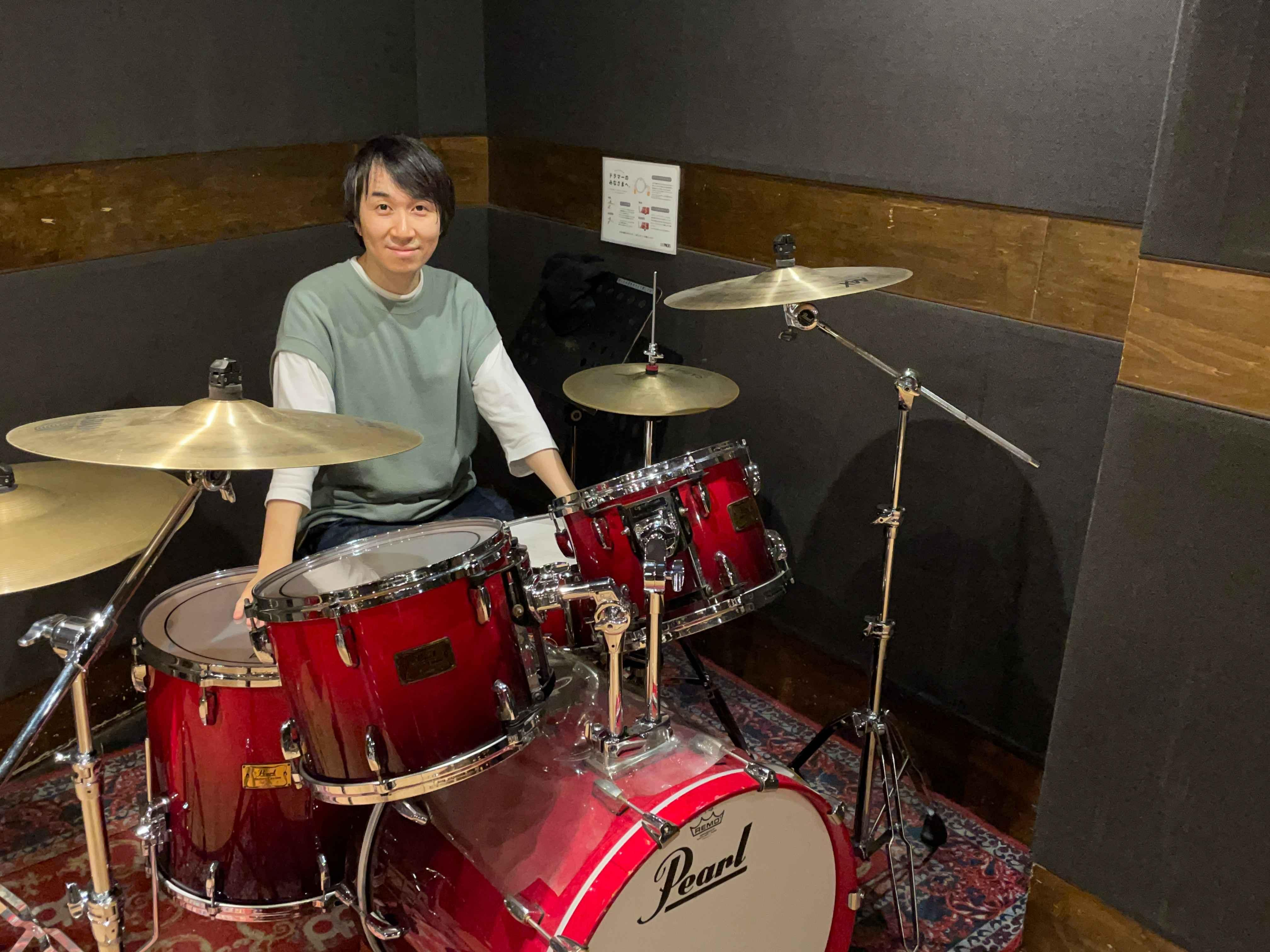 金山あつしドラム・パーカッション教室