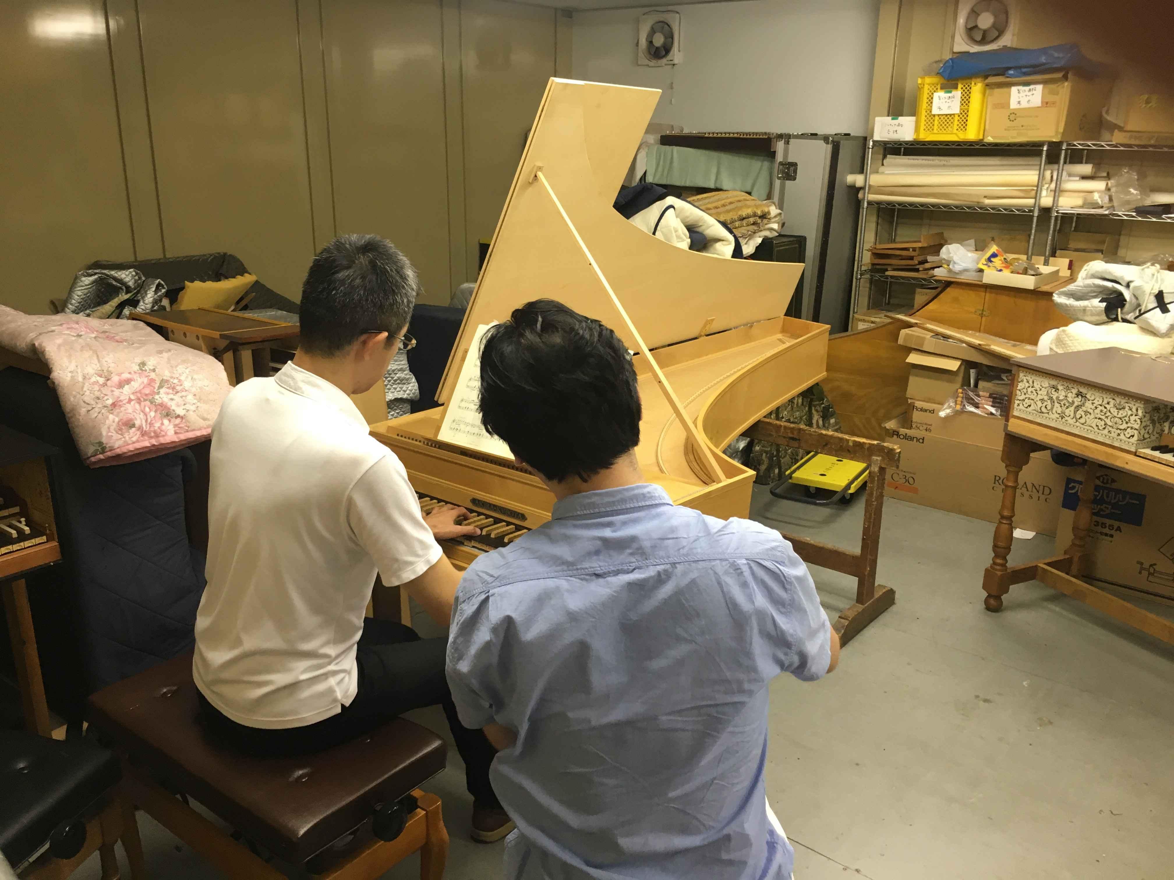 O'Harasフォルテピアノレッスン埼玉教室