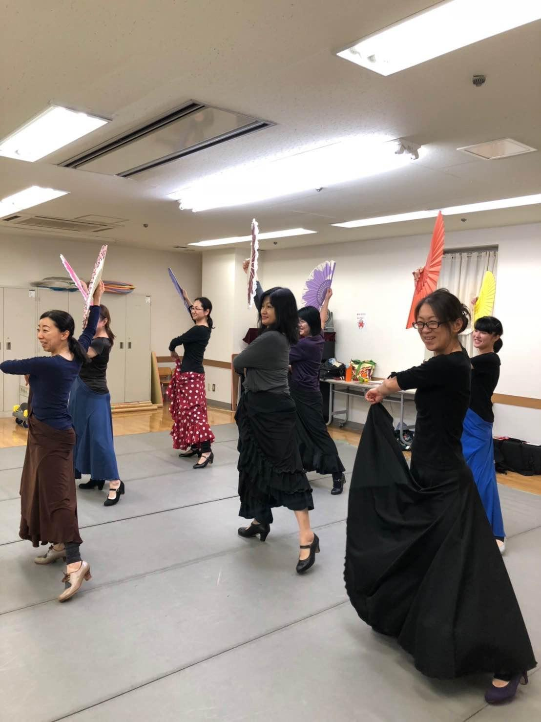 マダムのためのフラメンコ★志木カルチャーセンター