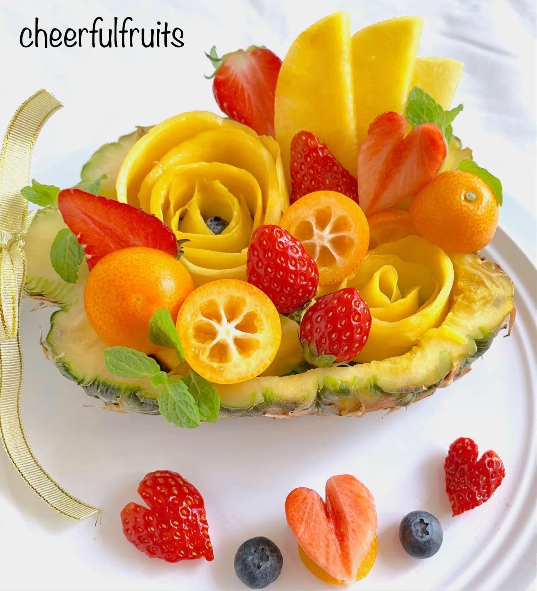 フルーツカッティング教室【cheerfulfruits】