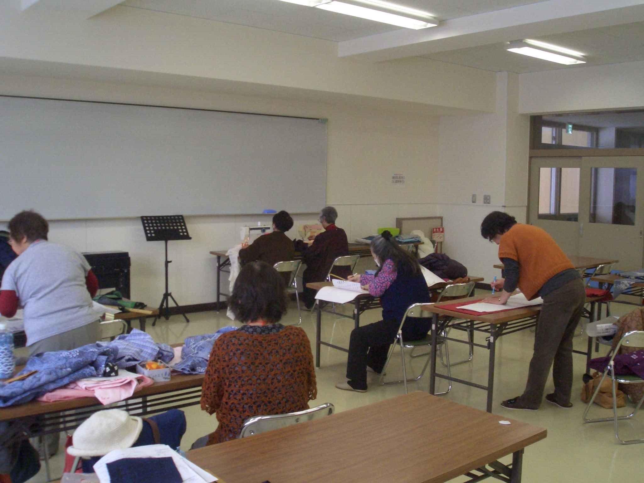 着物リメイク&お裁縫教室