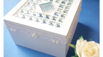 キラキラタイルのボックスを作りましょう