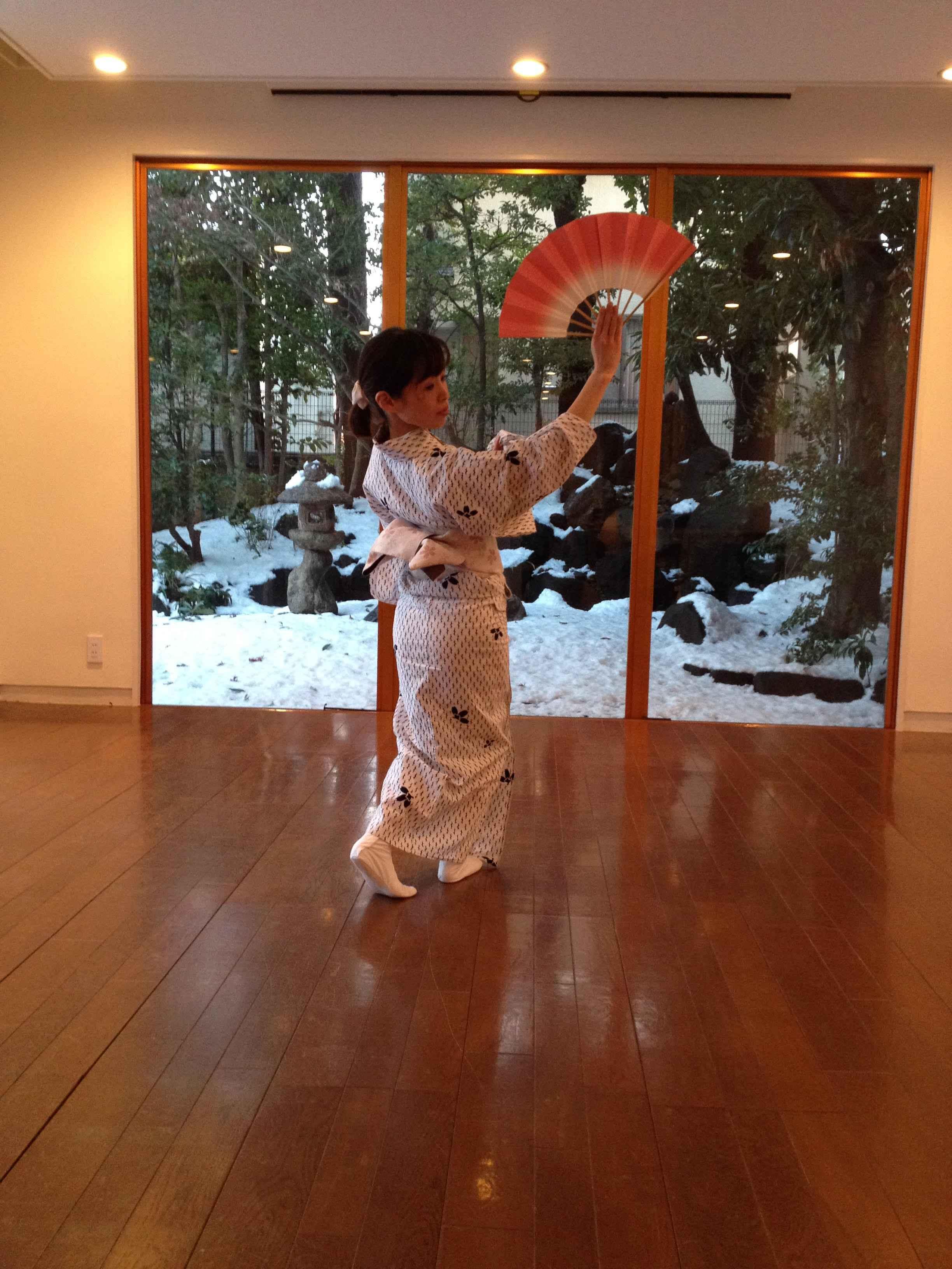 元・舞妓が教える日本舞踊教室