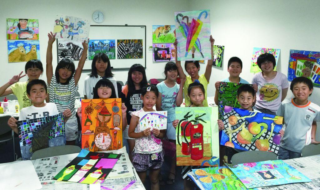 大阪府の子供絵画教室アトリエ12 光明池教室 | 趣味なび