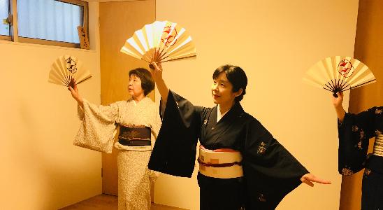 花崎流 地唄舞(日本舞踊)教室 高輪稽古場