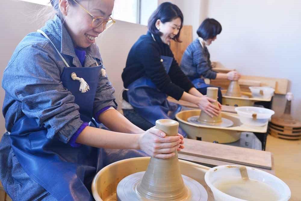 陶磁器工房 器楽で陶芸を楽しむ!