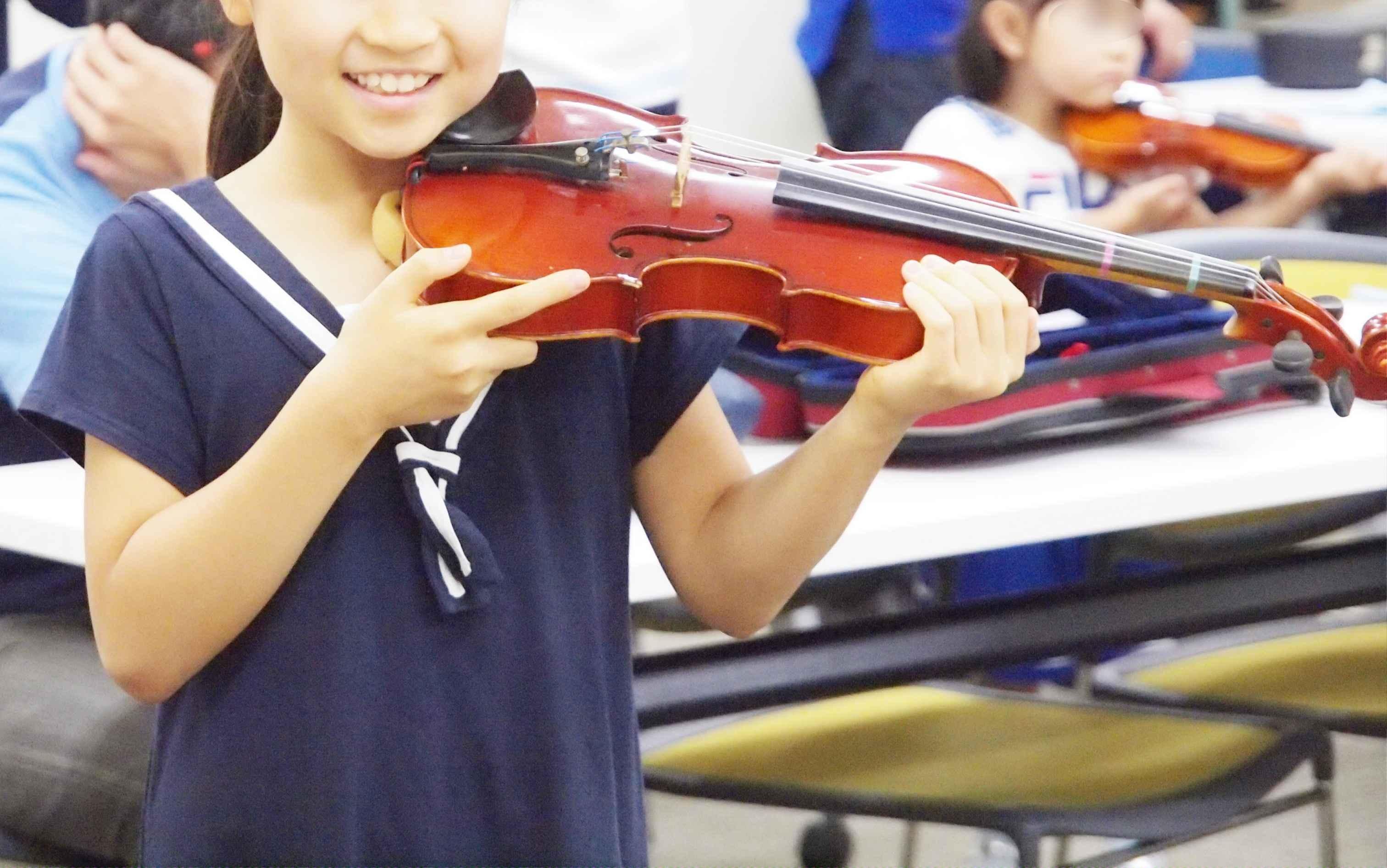 はじめてのバイオリン・レッスン特別編|1ヶ月バイオリン・レッスン