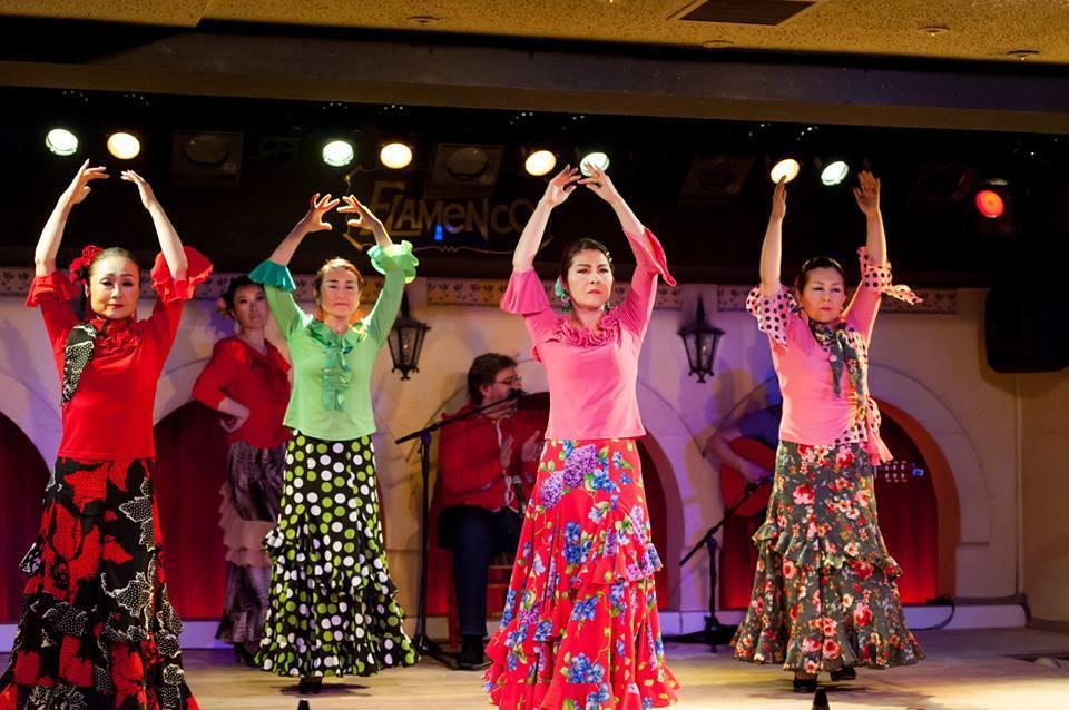 和田裕子フラメンコ舞踊基礎クラス 新宿駅西口5分クラス