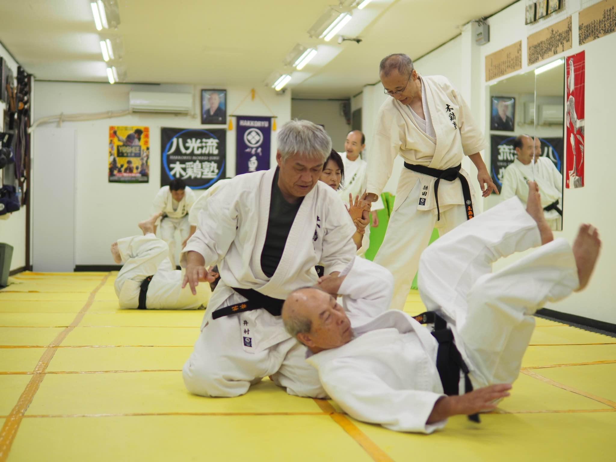 八光流柔術大阪道場・八光流木鶏塾