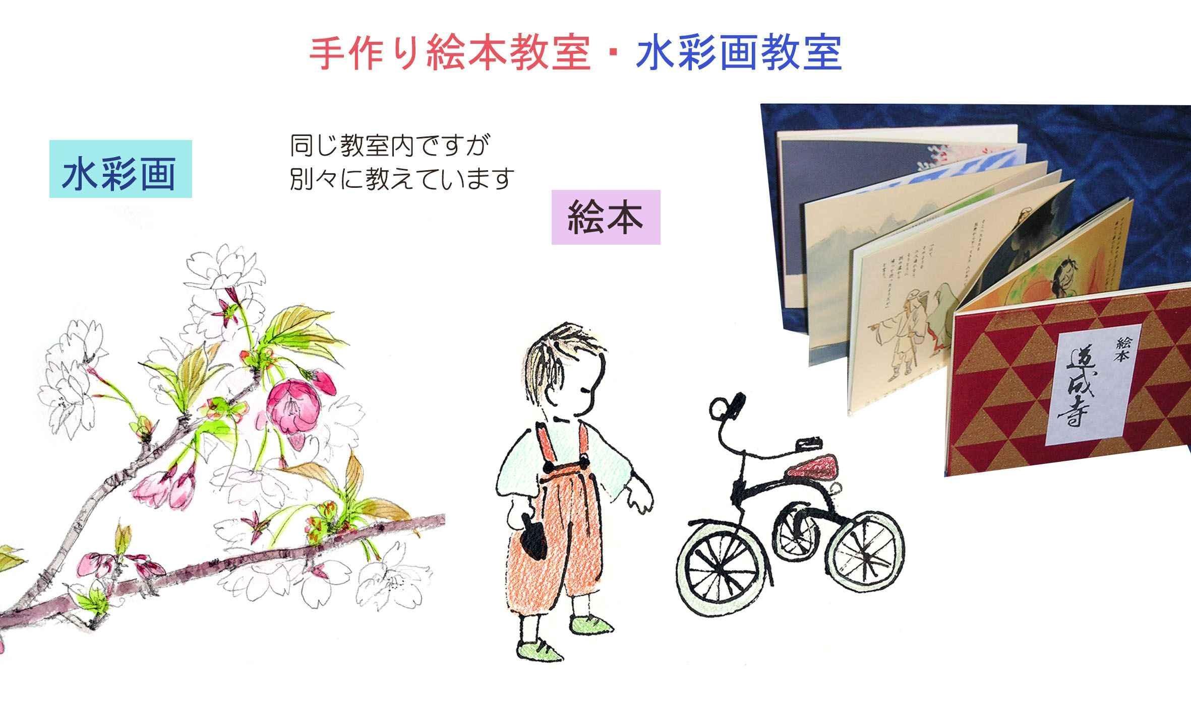 絵本と水彩画の教室 茂原