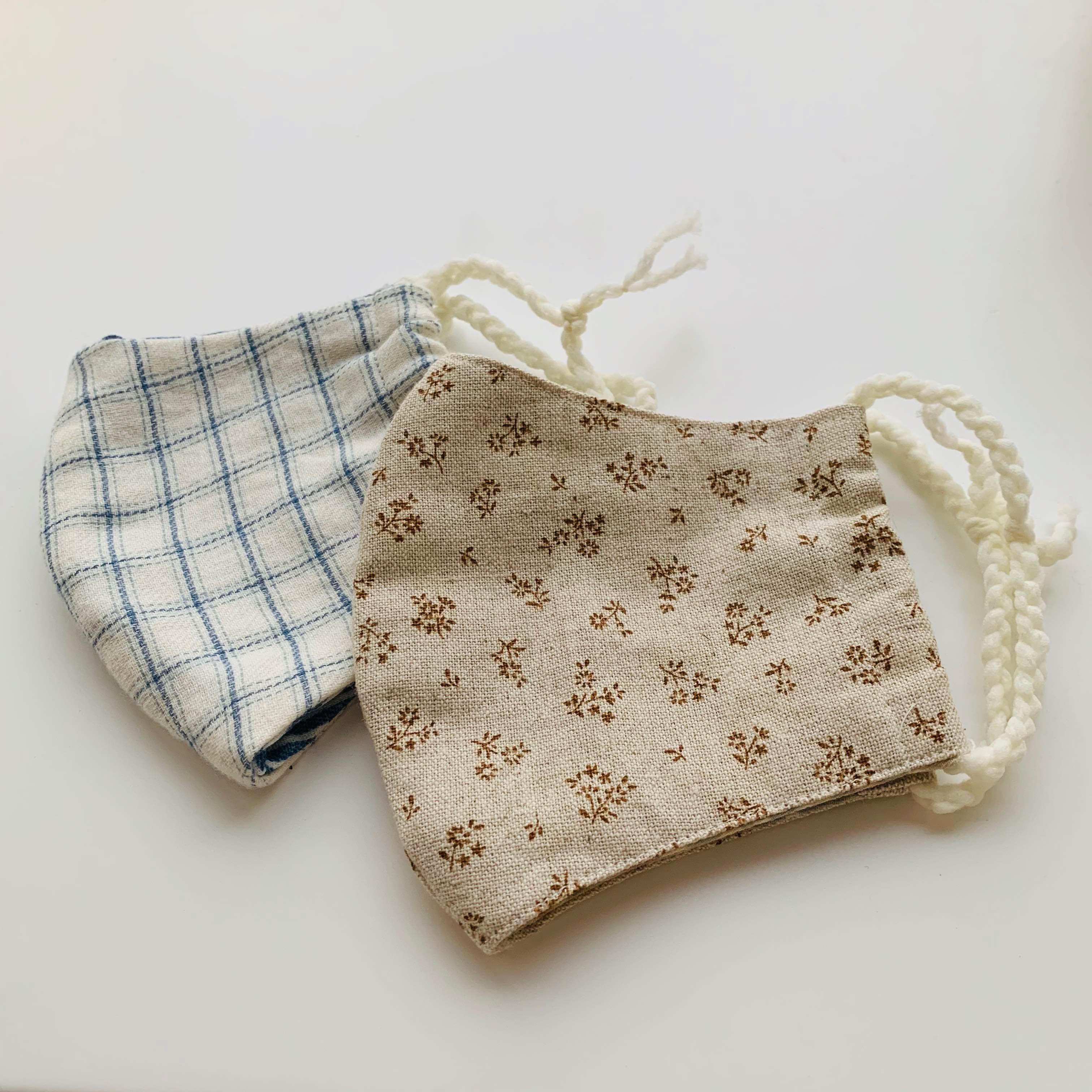 ちょこっとknitting&sewingで布マスク作り