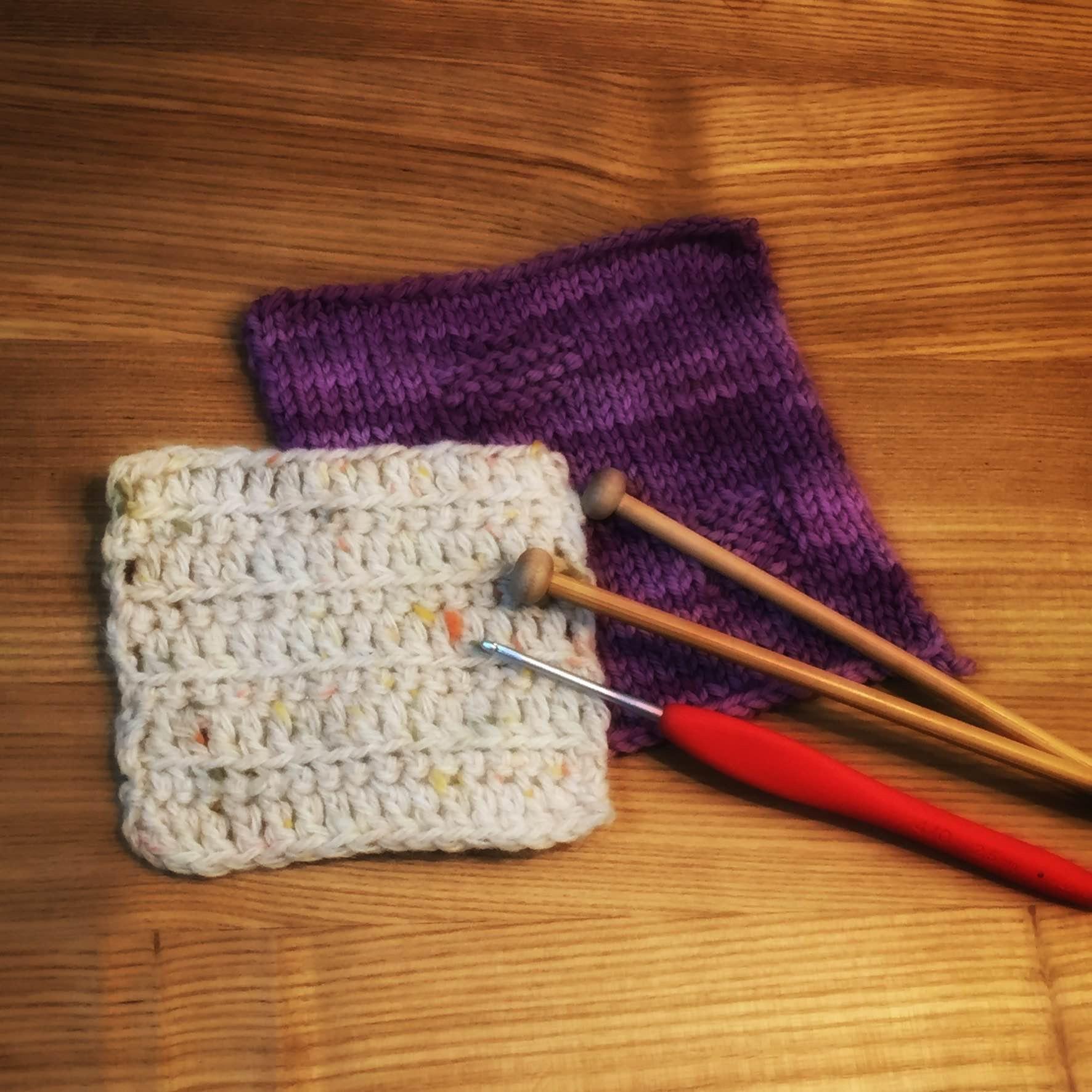 はじめての編み物 かぎ針編み