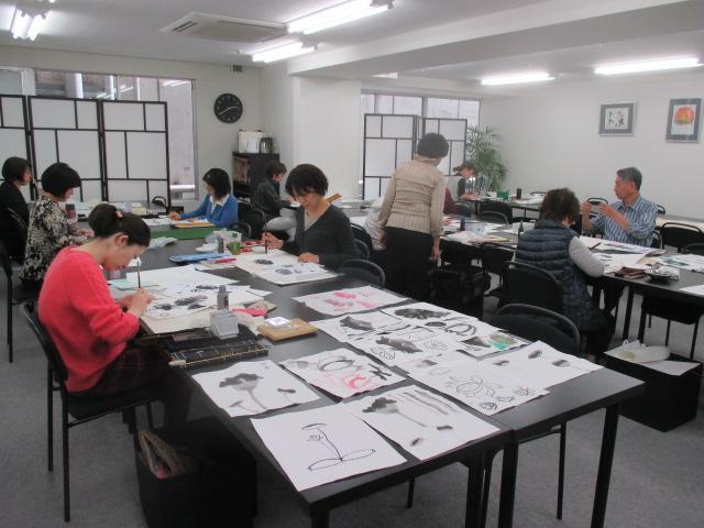 水墨画(sumi-e) 渋谷教室