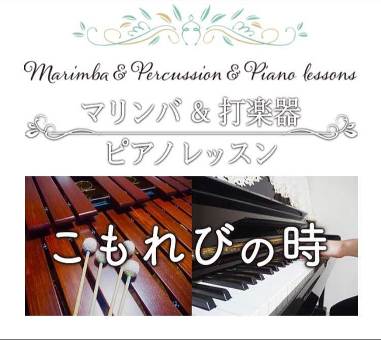 〜こもれびの時〜マリンバ&打楽器&ピアノレッスン