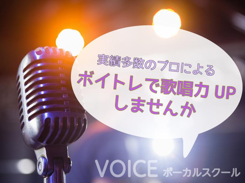 【オンライン】実績多数のプロによるボイトレで歌唱力UP