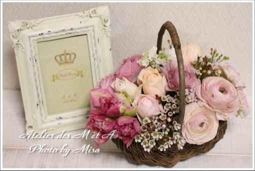 広島☆暮らしにお花を~フランスの花☆フラワーアレンジメント体験レッスン