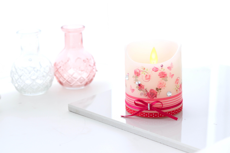母の日月間の贈り物に♩ LEDキャンドルにデコレーションして楽しもう♡