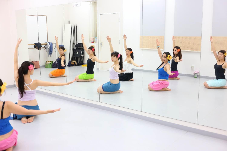 子連れOK! 新宿の平日お昼にタヒチアンダンス♡