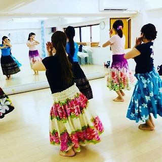 kapalili hula studioカパリリフラスタジオ東村山教室
