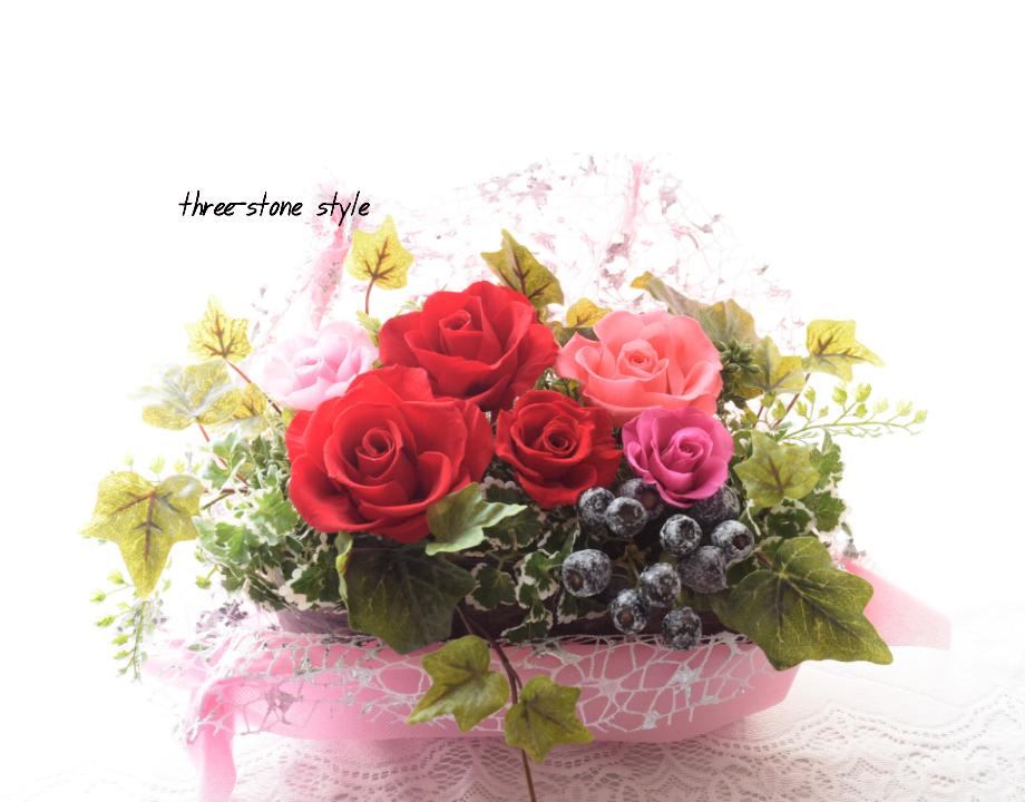 プリザーブドフラワー教室【すりすとん-枯れない花教室-】 ユーカリが丘