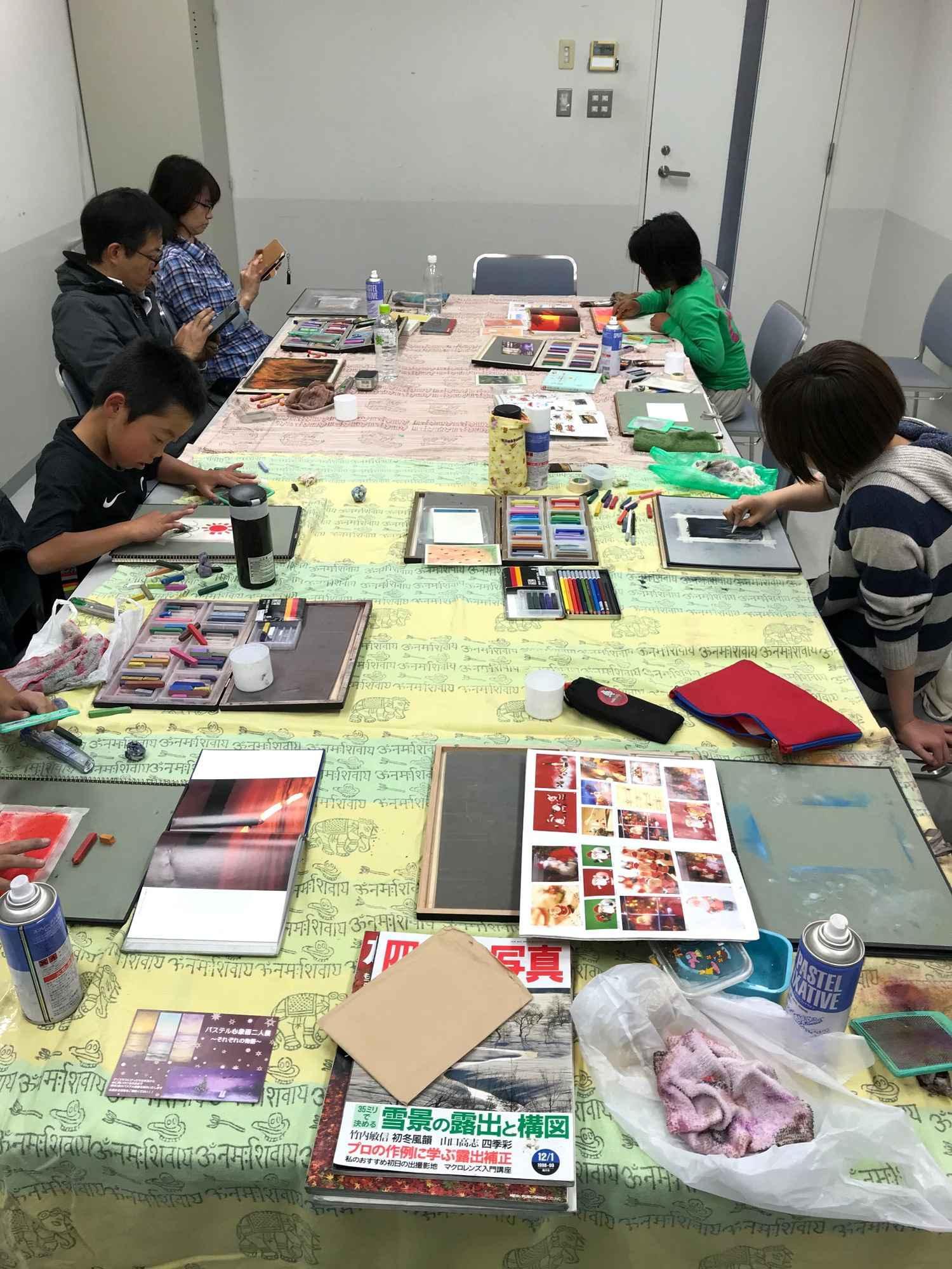 アートビレッジ39パステル絵画教室 防府教室