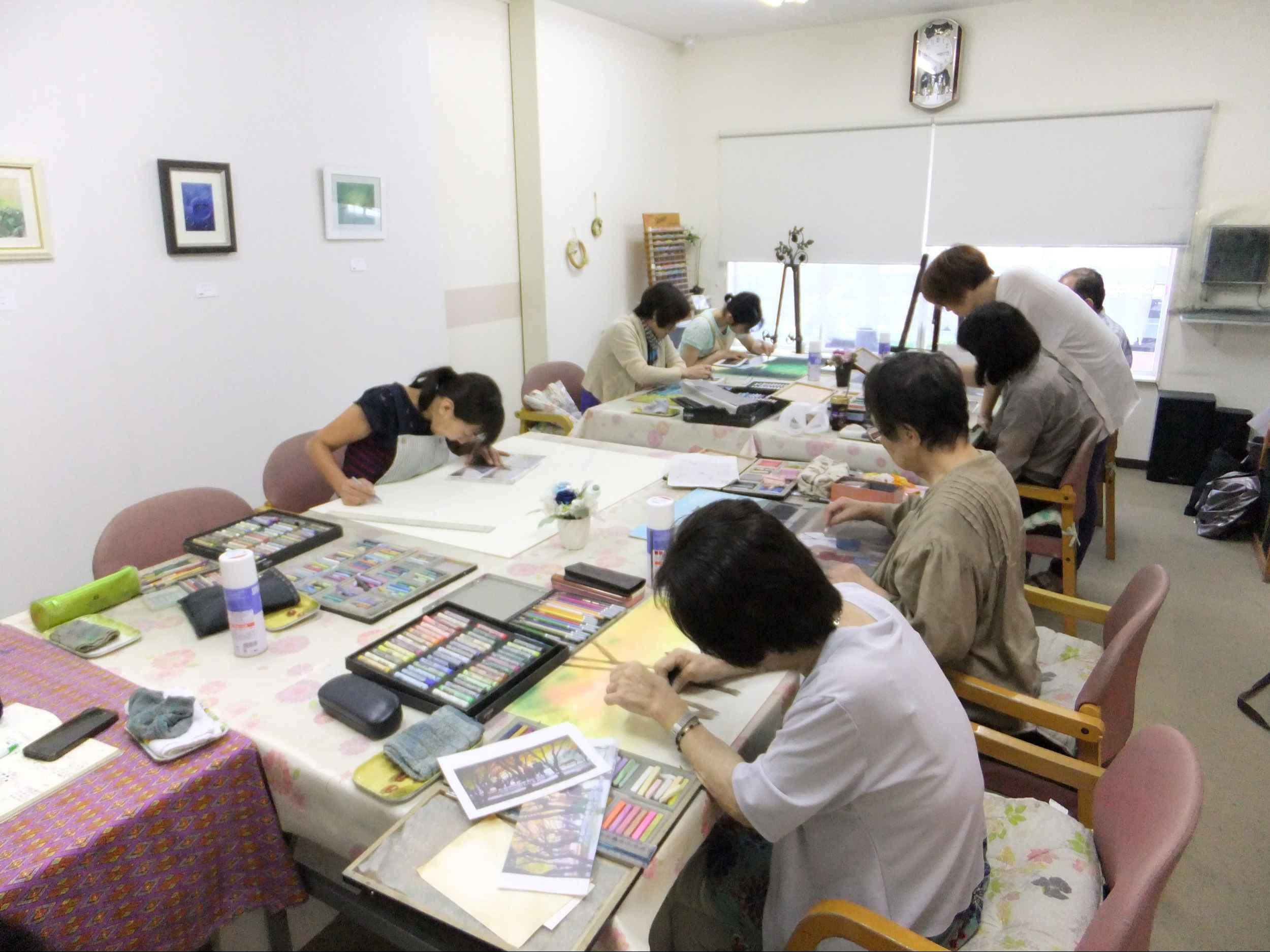 アートビレッジ39パステル絵画教室 下関教室