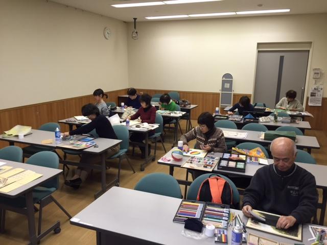 アートビレッジ39パステル絵画教室 周南教室