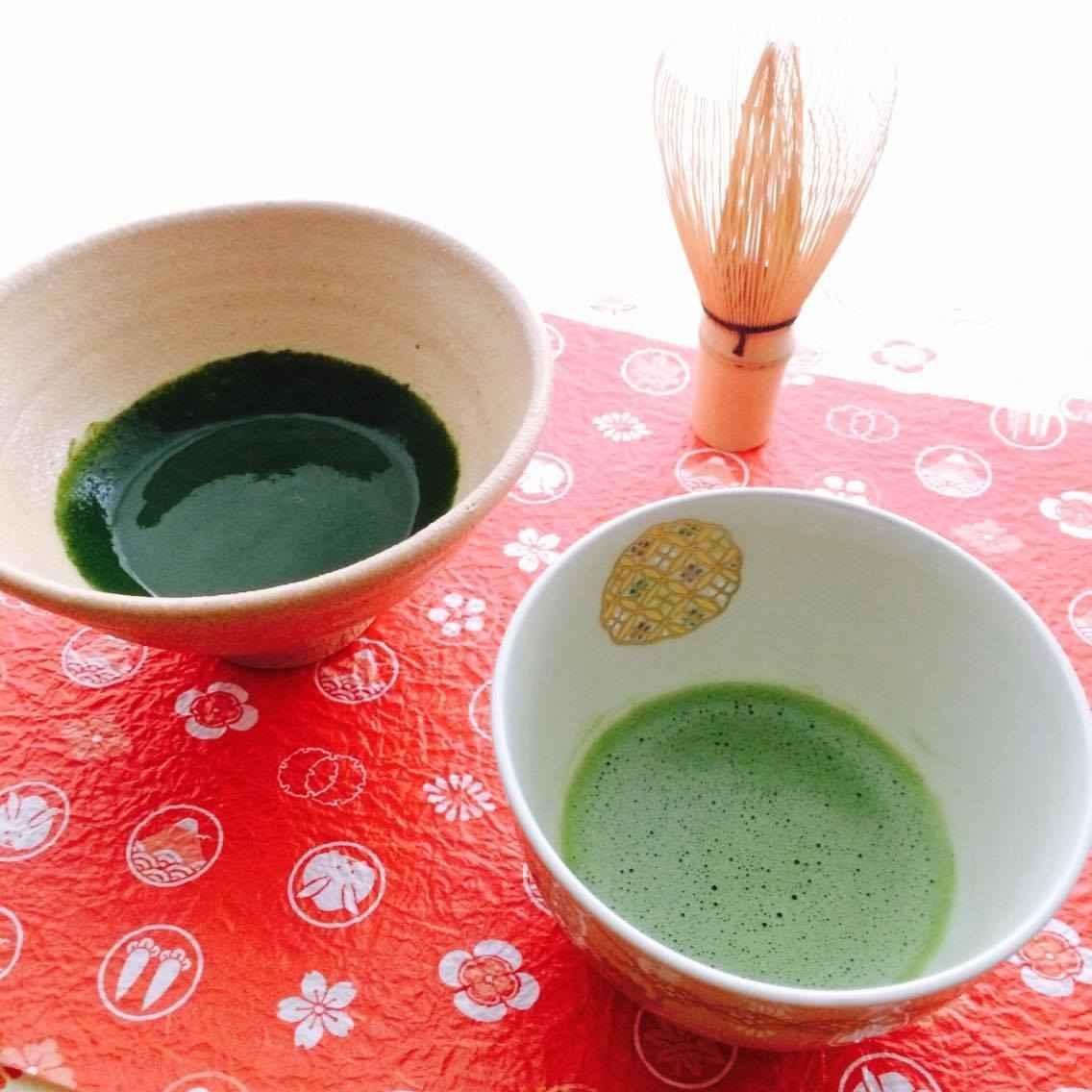 【3月オンライン応用】お茶で巡る日本の旅⑤【八女抹茶:濃茶】★茶葉付き