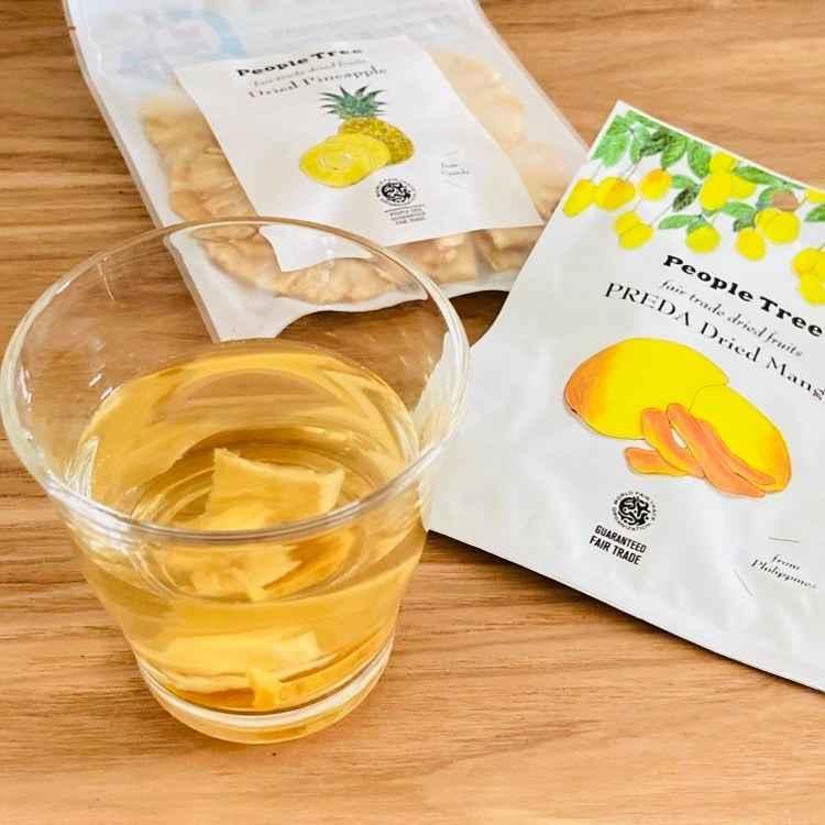 【フェアトレード×エシカル】ほうじ茶トロピカルアイスティー★茶葉等付き