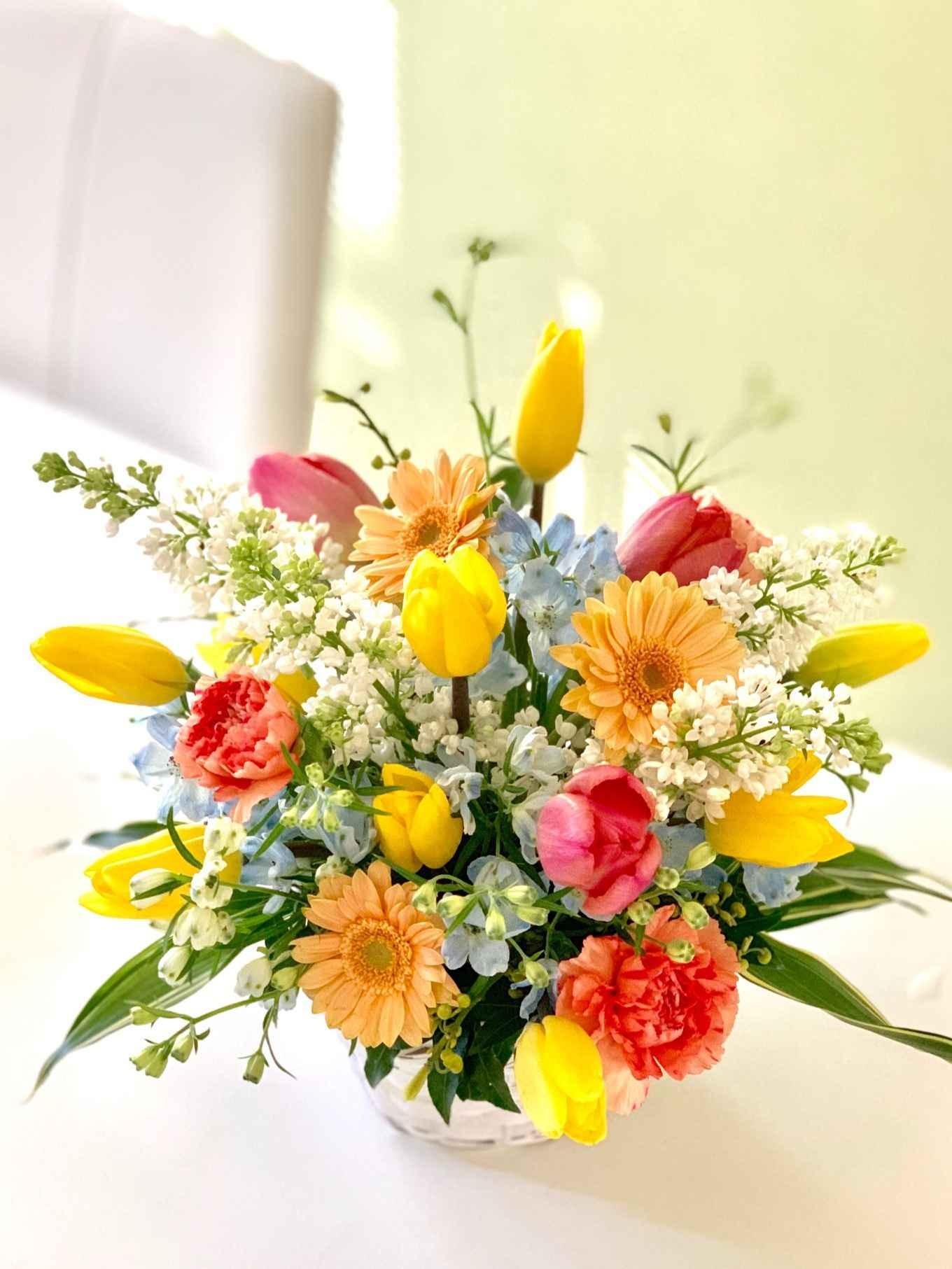 幸福感を感じる花セラピー フラワーアレンジメント体験