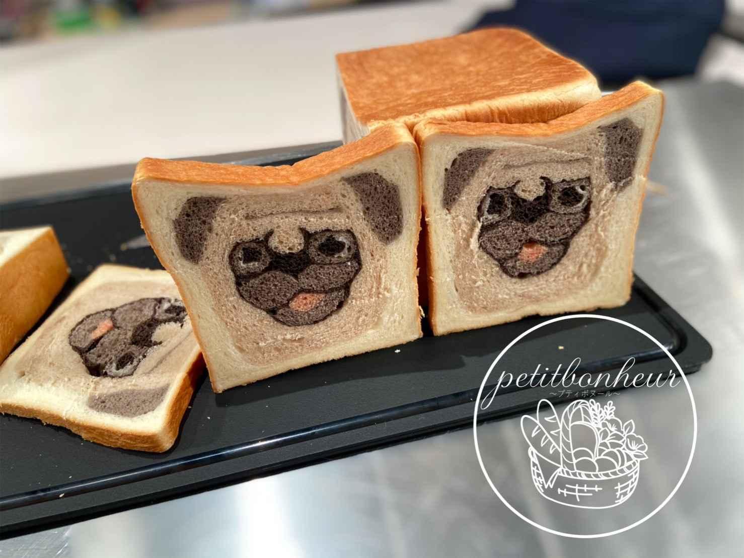 テレビに出た!パグゾウくんのパン&バスクチーズケーキを作ろう