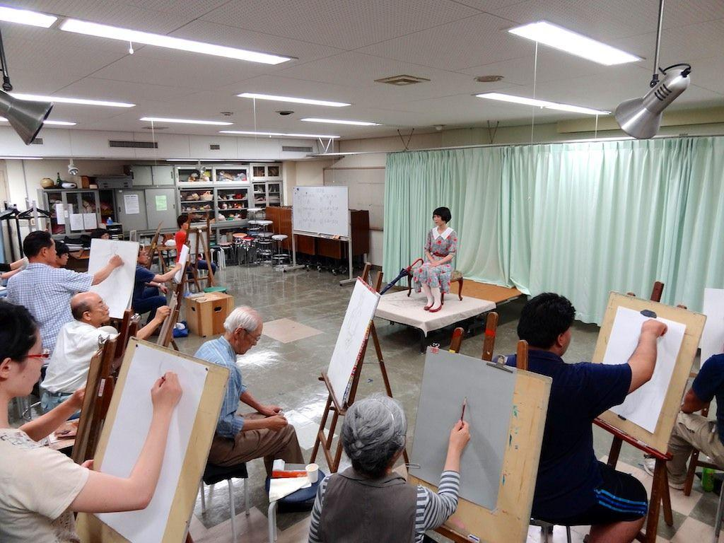 学生無料 人物 デッサン 絵画 教室
