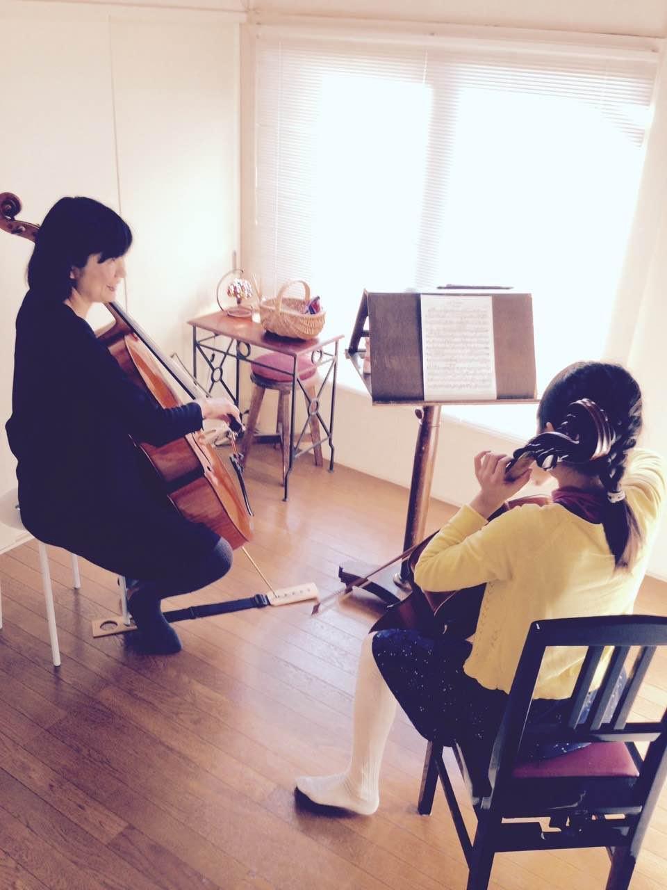 チェロ教室 東京、世田谷