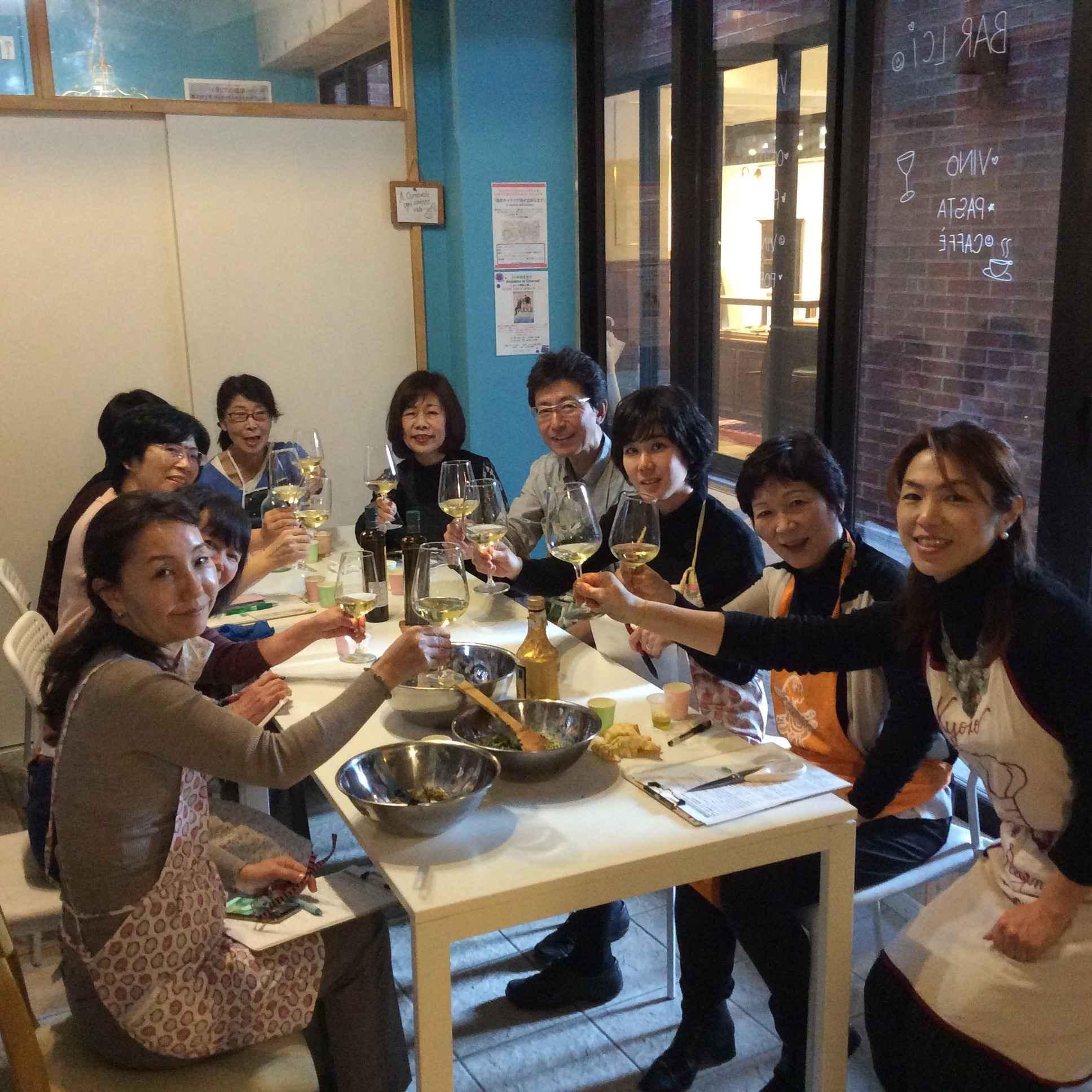 イタリア郷土料理とワイン講座