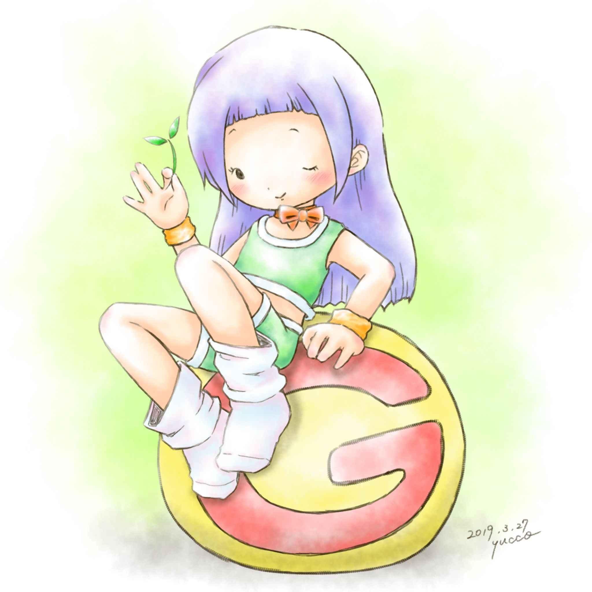 キッズダンス F☆ Green