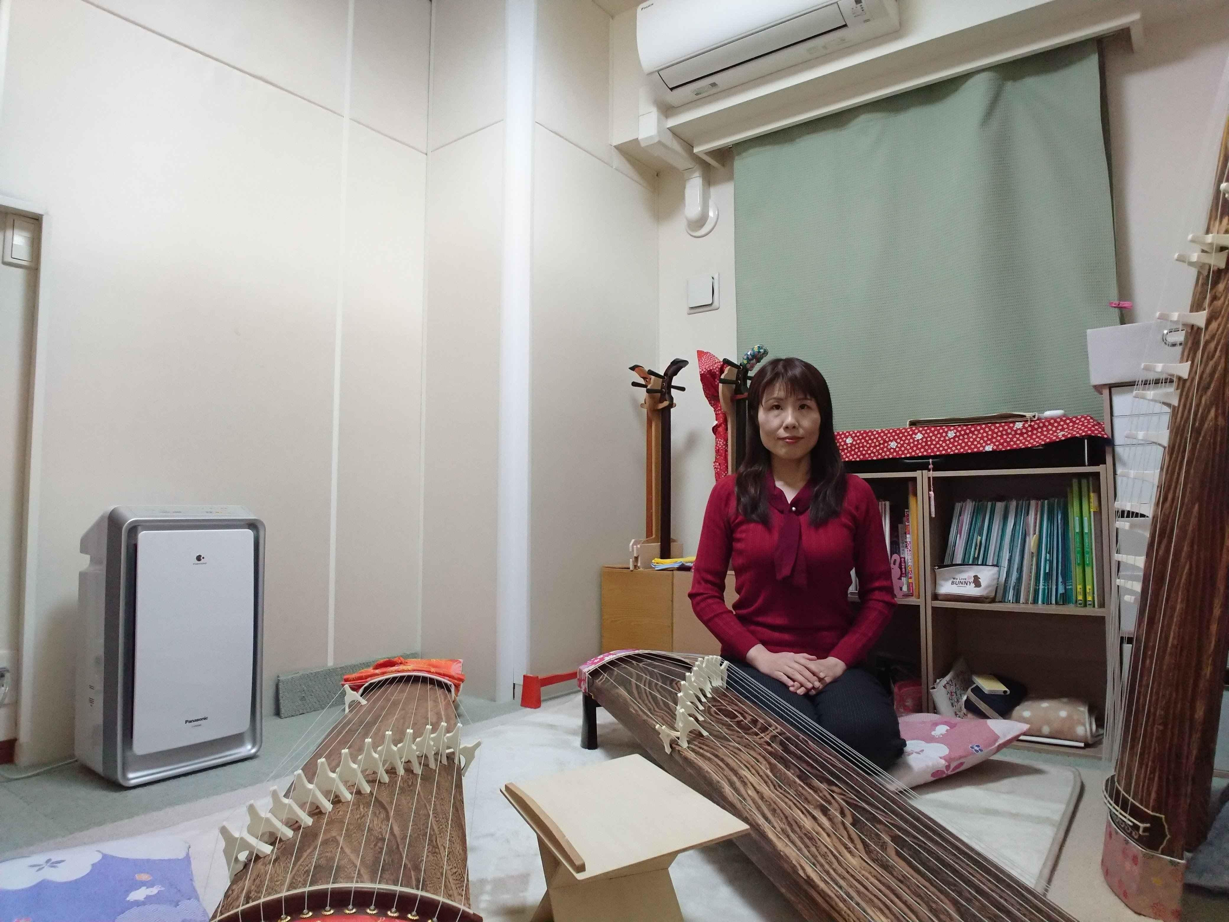 【大阪市城東区】お琴体験・ 菊希峰まゆ美箏三絃教室