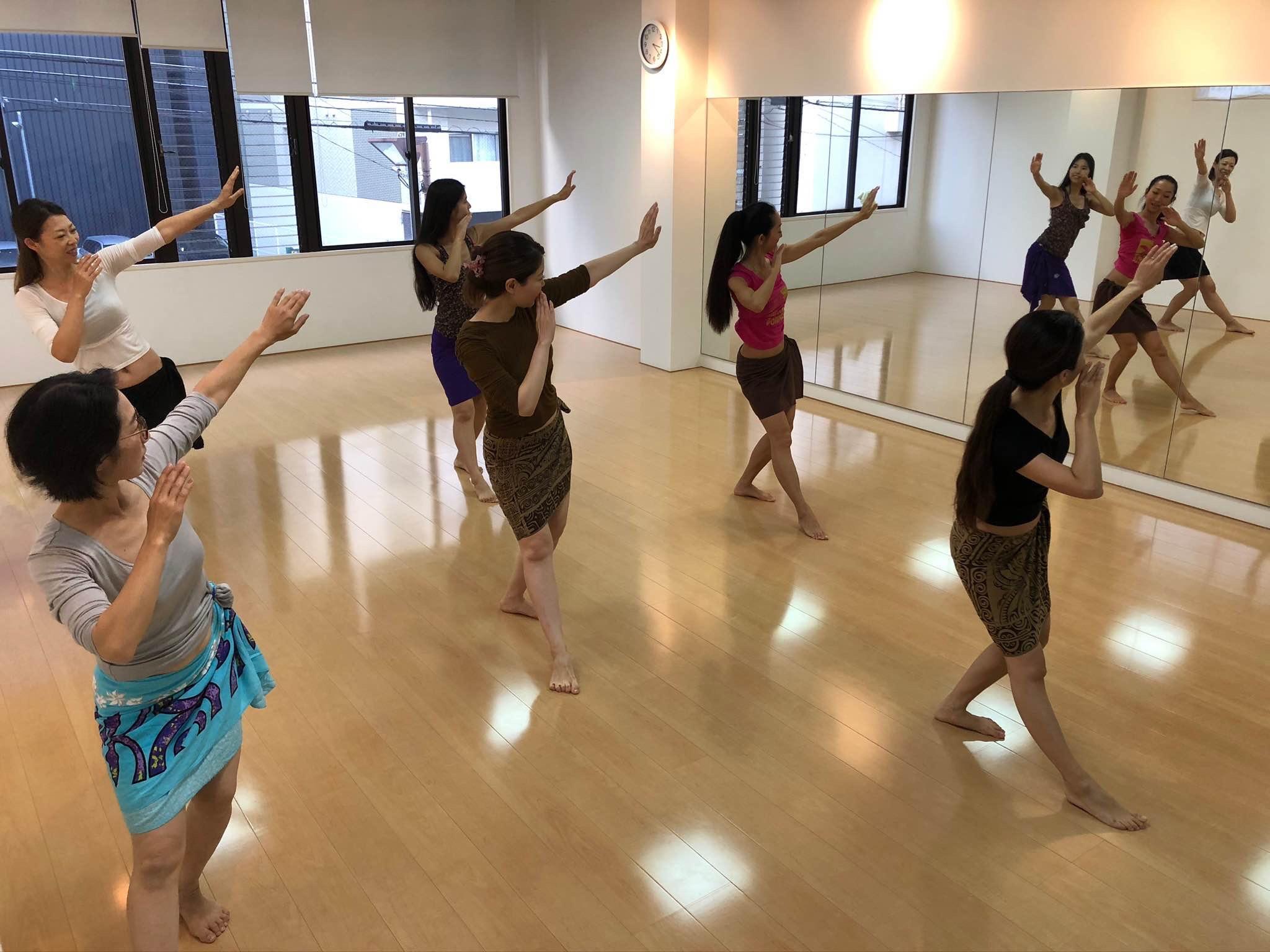 タヒチアンダンスを踊ってみたい!