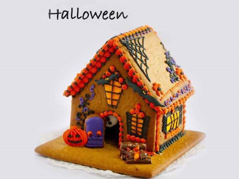 お菓子の家シリーズ『ハロウィン魔女の家』