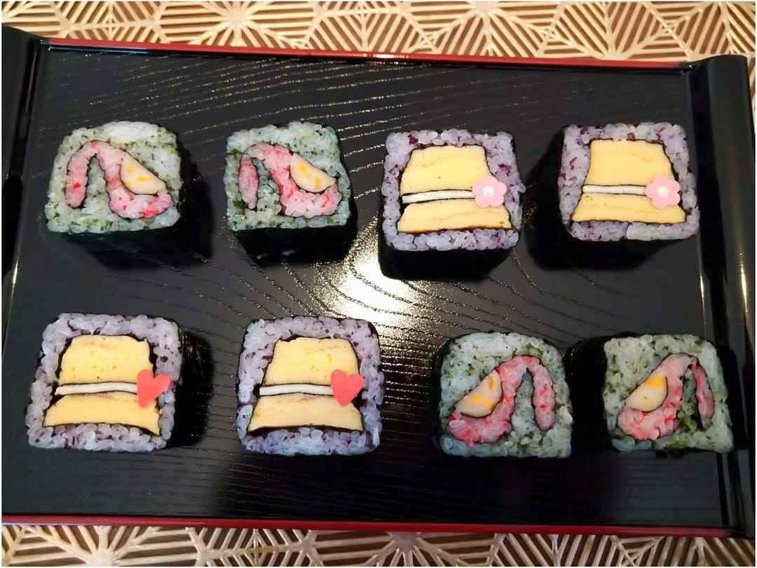 可愛いデコ巻き寿司教室