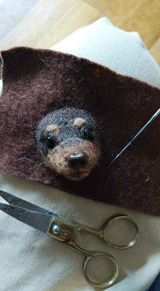 ふわもこ動物の羊毛フェルト教室
