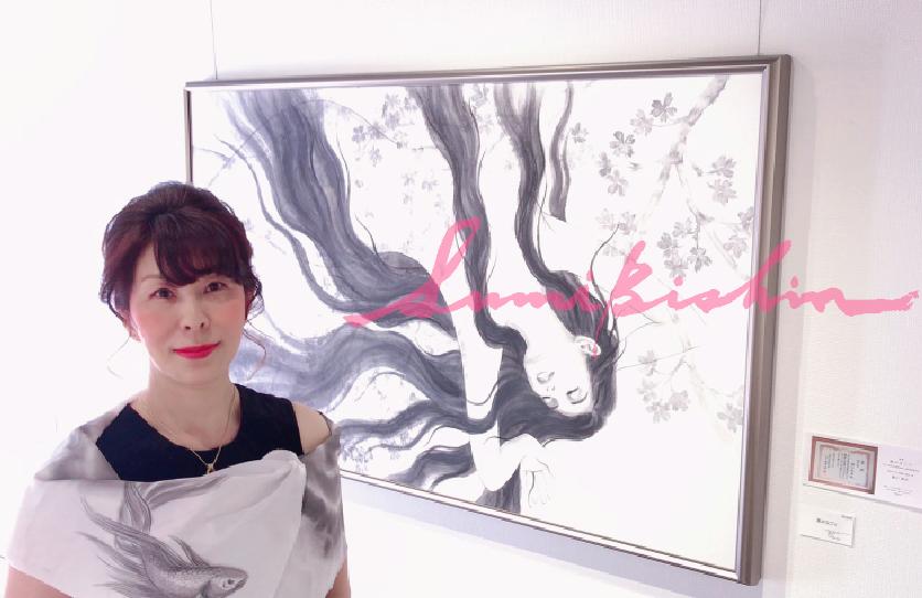 水墨画家・樋口鳳香が教える【水墨美人画・体験講座】