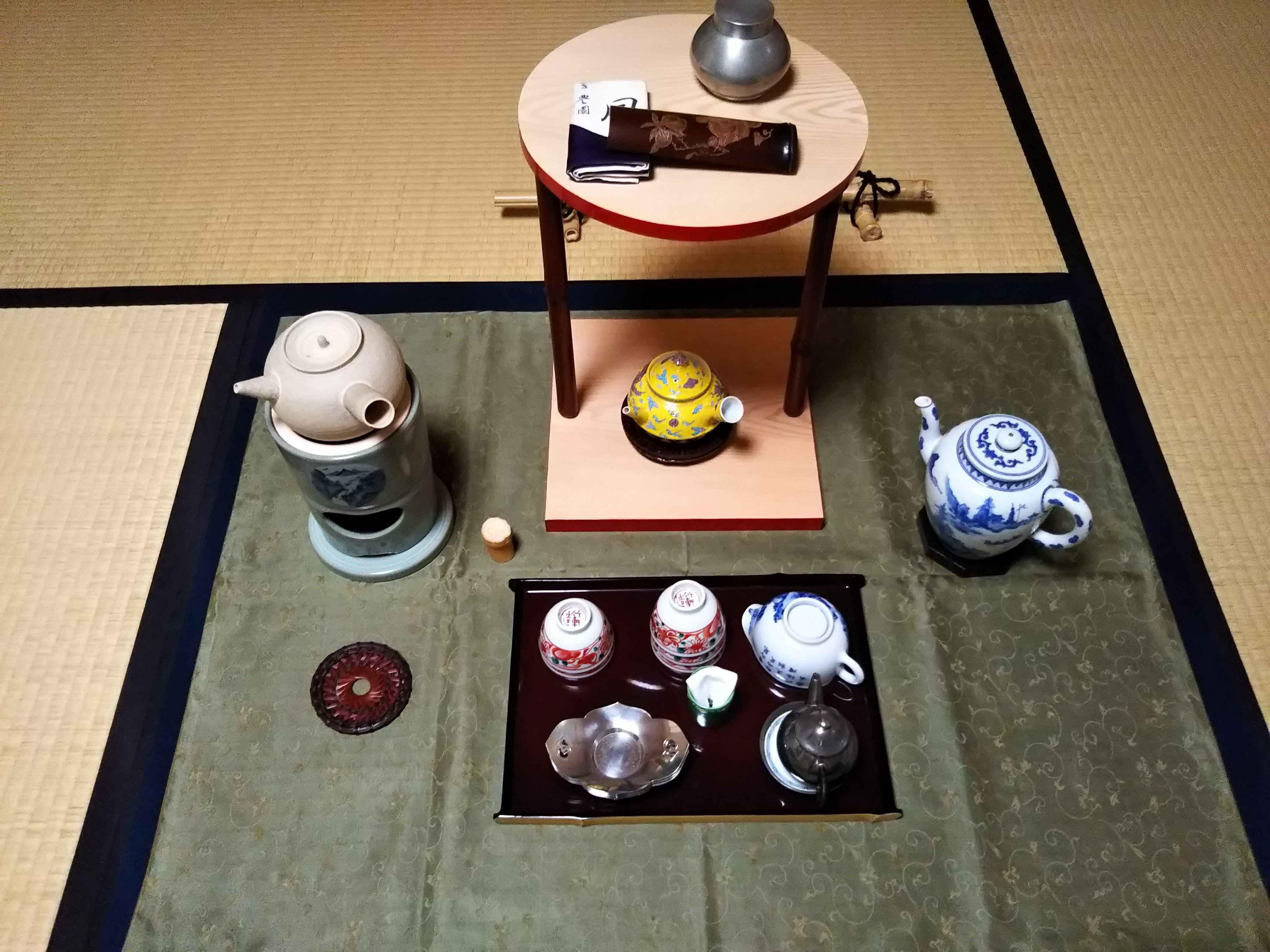 村上(喜)茶道教室(京都) 山楽庵