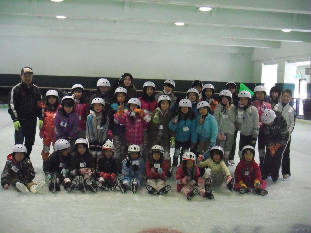 沼津市スケート協会 初心者・中級者スケート教室