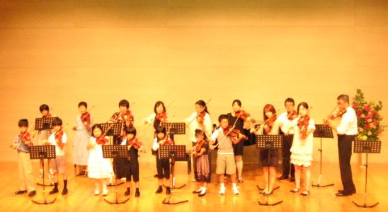 青葉区青葉台のバイオリン・ビオラ教室Cocoron
