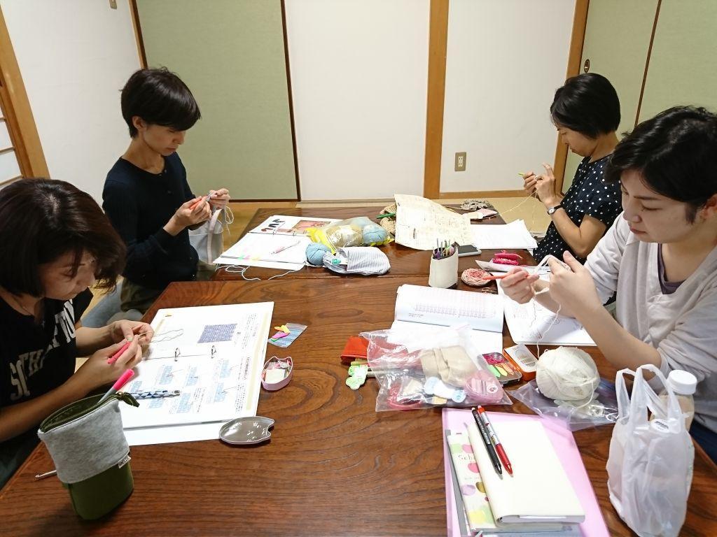 かぎ針編み教室Atelier Luna 西宮北口教室